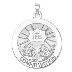 Confirmation Religious Medal    Chalice   EXCLUSIVE
