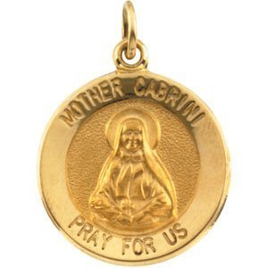 Mother Frances Cabrini Religious Medal