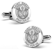 Saint Martin Stainless Steel Cufflinks