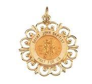 Saint John the Baptist Religious Medal