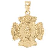 Saint Florian Religious Medal