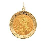 Scapular Religious Medal
