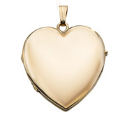 14k Gold Filled Heart 4 Photo Locket