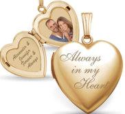 14k Gold Filled Valentine s Day Locket Package