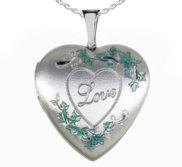 Sterling Silver  Love  Locket