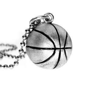 3D Personalized Realistic Basketball Pendant or Charm