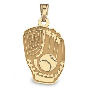 Custom Baseball Glove Pendant