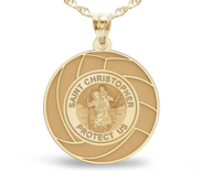 Exclusive Saint Christopher Volleyball Medal