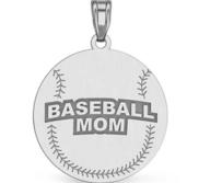 Baseball Mom Pendant