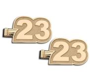 Custom Number Cuff Links