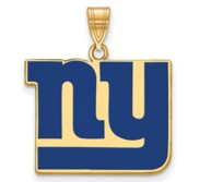 New York Giants Large Enamel Pendant