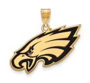 Philadelphia Eagles Large Enamel Pendant