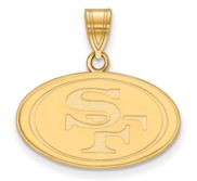 San Francisco 49ers Medium Pendant
