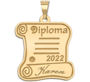 19  Personalized Graduation Diploma Pendant