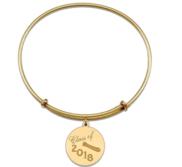 Expandable Bracelet W  Class of 2018 Charm