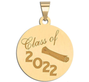 Class of 2019  Round Graduation Charm or Pendant