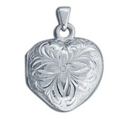 Sterling Silver  Photo  Cremation Locket