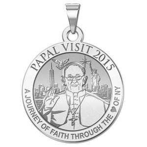 Pope Francis Papal Visit 2015    Journey to the Heart of NY  Embossed Medal