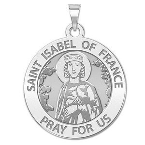 Saint Isabel of France Religious Medal  EXCLUSIVE