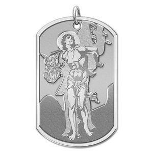 Saint Sebastian   Dog Tag Religious Medal  EXCLUSIVE