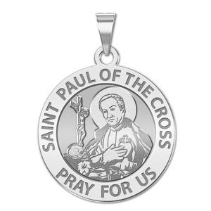 Saint Paul of the Cross Religious Medal  EXCLUSIVE