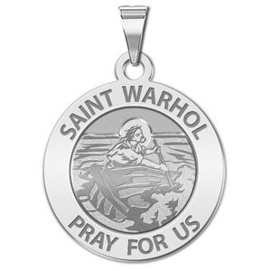 Saint Warhol Religious Medal    EXCLUSIVE