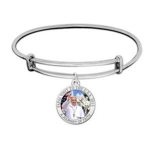 Pope Francis Color Expandable Bracelet W  Papal Visit Washington D C  2015