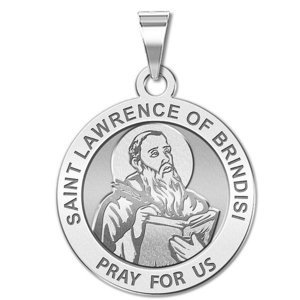 Saint Lawrence of Brindisi  Portrait  Religious Medal   EXCLUSIVE