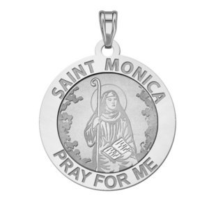 EXCLUSIVE Saint Monica  Pray For Me  Medal