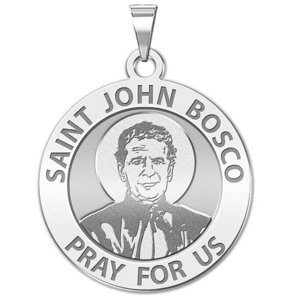 Saint John Bosco Religious Medal  EXCLUSIVE