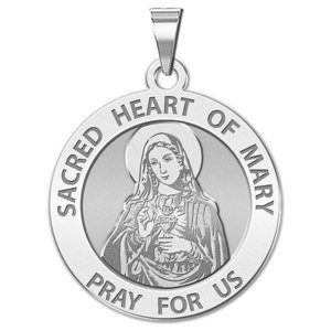 Sacred Heart of Mary Religious Medal  EXCLUSIVE