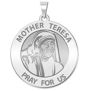 Mother Teresa Religious Medal  EXCLUSIVE