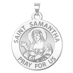 Saint Samantha Religious Medal  EXCLUSIVE