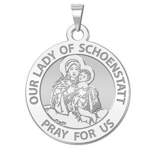 Our Lady of Schoenstatt Religious Medal  EXCLUSIVE
