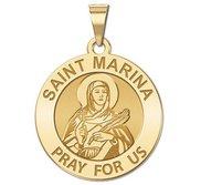 Saint Marina Religious Medal  EXCLUSIVE