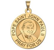Pope Saint John Paul II Religious Medal  EXCLUSIVE