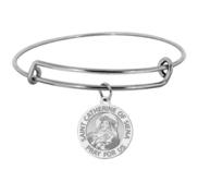 Saint Catherine of Siena Expandable Bracelet