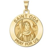 Saint Oda Religious Medal  EXCLUSIVE