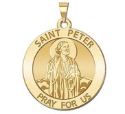 Saint Peter Religious Medal  EXCLUSIVE