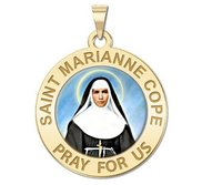 Saint Marianne Cope Religious Color Medal  EXCLUSIVE