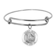 Saint Rita Expandable Bracelet