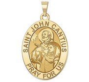 Saint John Cantius Oval Religious Medal  EXCLUSIVE