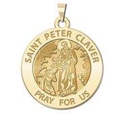 Saint Peter Claver Religious Medal  EXCLUSIVE