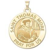 Saint Thomas More Religious Medal  EXCLUSIVE