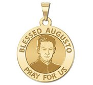 Blessed Augusto Round Religious Medal  EXCLUSIVE