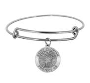 Saint Florian Expandable Bracelet