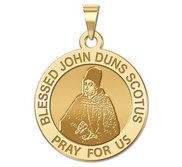 Blessed John Duns Scotus Religious Medal  EXCLUSIVE