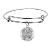 Saint Dymphna Expandable Bracelet