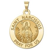 Saint Narcissus Religious Medal   EXCLUSIVE
