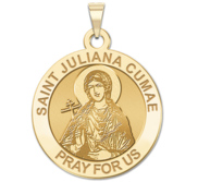 Saint Juliana Cumae Religious Medal   EXCLUSIVE